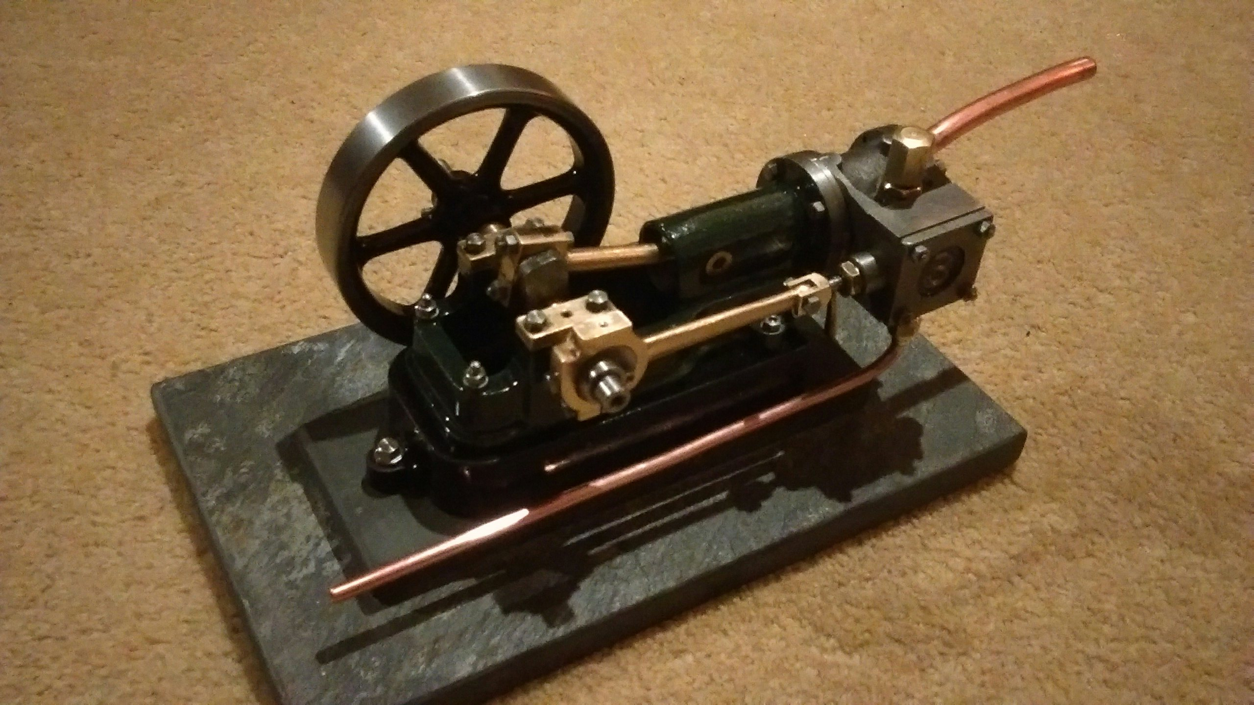 Stuart 10H stationary engine